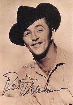 American film actor, author, composer and singer (1917-1997), signed photo, 4 x 6 inches
