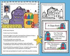End of the year activities:  An end of the year Class-Made book to share with your new students in the fall.