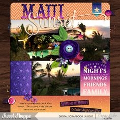 Brook's Templates - Duo 23 - Pecky Pack by Brook Magee | Hot Summer Nights: Bundle by Kristin Cronin-Barrow