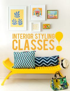 learn to style your space like a pro!