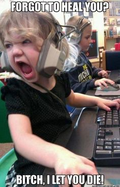 I think my baby girl is going to be like that... LOL. Gamer girls ftw! \o/