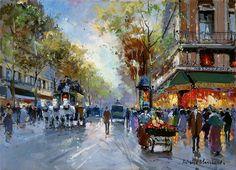 Antoine Blanchard - Café de la Paix