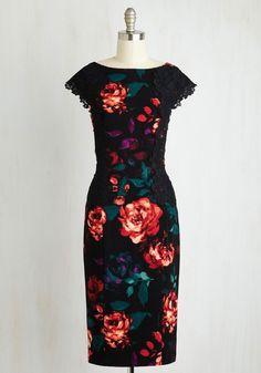Elegant Instruction Dress | Mod Retro Vintage Dresses | ModCloth.com