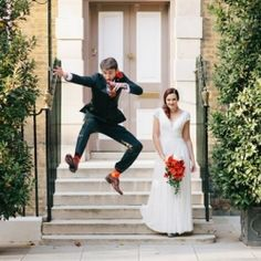 They wanted their wedding to be full of the things they loved, with scrabble, dinosaurs, lego and puzzles to name a few… amazing!