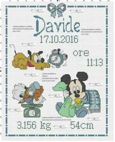 Hand Sewing Leather Patches On Jeans Baby Cross Stitch Patterns, Cute Cross Stitch, Pinterest Cross Stitch, Baby Chart, Birth Announcement Girl, Lap Quilts, Crochet Cross, Sewing Leather, Le Point