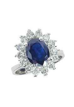 Gemma Royalty Sapphire Ring, 2.29 TCW