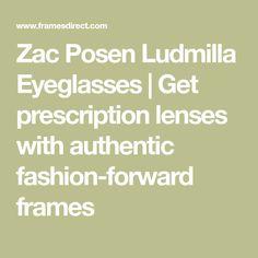 64504730c00 Zac Posen Ludmilla Eyeglasses