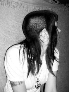 Original skinhead girl