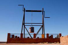 The Big Winch - Coober Pedy South Australia Wildlife Tourism, South Australia, Big