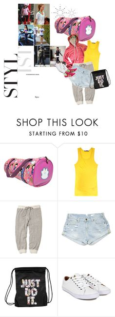 """""""Work Out/Active Wear"""" by thenicerkaiser ❤ liked on Polyvore featuring jared, Haider Ackermann, Whiteley, SCARLETT, Steven Alan, sass & bide, NIKE, Lyle & Scott, adidas and hoodie"""