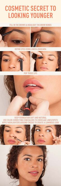Makeup Tips To Make You Look Younger - Cosmetics, the Secret to Looking Younger - Look 10 Years Younger With These Anti Aging Skin Care Ideas - Simple Skincare Techniques for Reversing Signs of Aging - Natural Remedies and Recipes for How to Make Coconut Serums and How To Get Flawless SKin - thegoddess.com/makeup-tips-to-make-you-look-younger