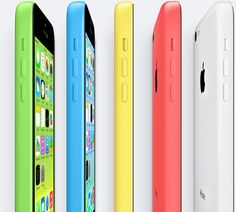 Apple - iPhone 5c. This is the cheap version. Looks good too!