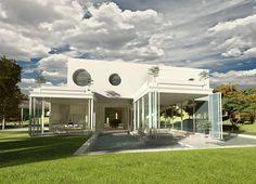 the objet house on jeju island by planning korea