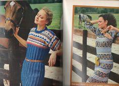 70's Fashion Vintage Craft magazine 100 Ideas, crochet, needlepoint, rugs, ads by Craftyology on Etsy