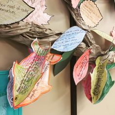 Fish in a Tree craftivity - my students loved this activity at the end of reading the novel Reading Projects, Class Projects, Book Projects, Classroom Activities, Classroom Ideas, Activities For Kids, Fish In A Tree, Reading Stations, Shape Books