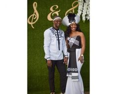 Xhosa Wedding Dresses styles 2019 - Latest African African Wedding Dress, Wedding Dress Styles, Wedding Attire, South African Traditional Dresses, Traditional Wedding Dresses, Xhosa Attire, African Attire, African Dresses For Women, African Fashion Dresses