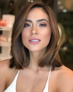 80 Bob Hairstyles To Give You All The Short Hair Inspiration - Hairstyles Trends Balayage Hair, Ombre Hair, Short Bob Hairstyles, Cool Hairstyles, Layered Hairstyles, Medium Hair Styles, Curly Hair Styles, Medium Layered Hair, Hair Looks