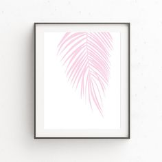 Palm Leaves Print | Printable Leaf Palm | Tropical Leafs Prints