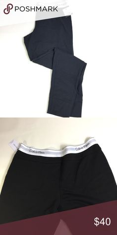 NWT Calvin Klein Women's Shift Logo Pant Sz M Calvin Klein lounge pants feature a relaxed fit for ultimate comfort and an elastic waistband with Calvin Klein logo. Size M color Black ♥️ Calvin Klein Underwear Intimates & Sleepwear Pajamas