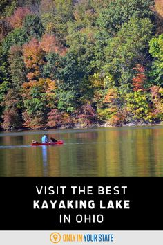 This beautiful Ohio lake is perfect for paddling adventures all year long! Kayak or canoe while enjoying the scenery, wildlife, and nature that surrounds you. The calm water is great for beginners and the lake hosts fun events with prizes too! Ohio Attractions, Washington Township, The Buckeye State, Fun Events, Covered Bridges, Canoe, The Great Outdoors, Kayaking, Trips