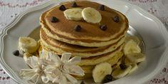 Enjoy these delicious grain-free banana spice pancakes for breakfast, lunch or dinner! Breakfast Pancakes, Best Breakfast, Cooking Pancakes, Pancake Muffins, Protein Pancakes, Breakfast Ideas, Vegan Breakfast Recipes, Dessert Recipes, Buttermilk Pancakes Easy