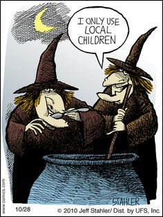 Hipster witches!