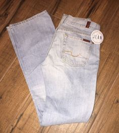 7FAM 7 for All Mankind Women's Bootcut Sz 26 in Rinse 061U Wash 100% Cotton 3A #7ForAllMankind #BootCut