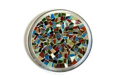 Mosaic Trivet Candle Holder Multicolored by GreenStreetMosaics, $20.00