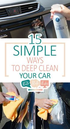 Diy Car Cleaning, Homemade Cleaning Products, Deep Cleaning, Spring Cleaning, Cleaning Supplies, Hyundai Accent, Clean Your Car, Car Hacks, Hacks Diy