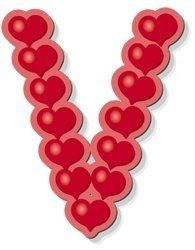 valentine capital letter