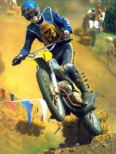 Jaroslav Falta AGV Helmet Motocross Riders, Motocross Helmets, Motorcycle Dirt Bike, Motorcycle Posters, Cool Motorcycles, Vintage Motorcycles, Old Scool, Off Road Bikes, Valentino Rossi 46
