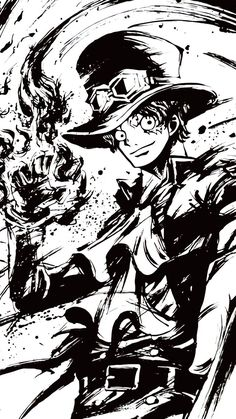 One piece Sabo Manga Anime, Art Anime, One Piece Anime, Walpaper One Piece, One Piece Seasons, Super Manga, Sabo One Piece, One Piece Tattoos, One Piece Wallpaper Iphone