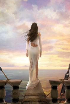 She stood in the storm, And when the wind did not blow her way, She adjusted her sails.  *Elizabeth Edwards Artprint: Sprite by MichaelO ღஜღ•๋●♪~Love ~♪•๋●ღஜღ MODaline Productions