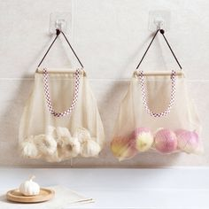 Cheap Bags Baskets, Buy Directly from China Suppliers:JiangChaoBo Hanging Kitchen Trash Bags Potato Storage Finishing Plastic Bags Shopping Bags Draw Bag Pouch Bag Organization, Kitchen Organization, Kitchen Storage, Food Storage, Plastic Bag Storage, Plastic Bags, Grocery Bag Storage, Cereal Storage, Kitchen Garbage Bags