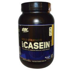 sports-fitness-athletic: Optimum Nutrition, Gold Standard, 100% Casein, Ban...