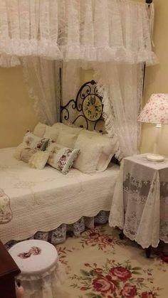 schlafzimmer im shabby chic stil in rosa und weiß | zimmerideen ... - Faszinierende Vintage Schlafzimmermobel Romantisch Und Sus