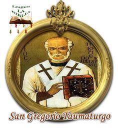 Leamos la BIBLIA: San Gregorio Taumaturgo