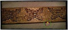 Flores talladas en tilo. Woodcarving: flowers