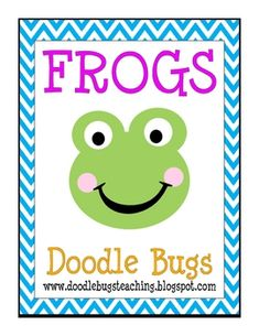 Frog Centers: Reading, Literacy, Math...I have some coworkers that have Frog Themed classrooms!! This ones for you :)