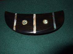 Wood Wooden Barrette Hairclip Ebony medium by Thingsinwood18, $56.00