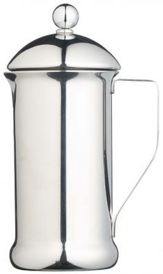 Kitchen Craft L'Express Manhattan Stainless Steel Coffee Press - Coffee, nice and easy.