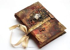 Journal - family book - Odyssey by finnabair, via Flickr