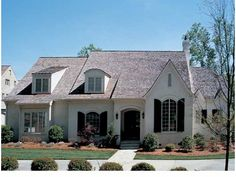 French Country House Plan with 4369 Square Feet and 4 Bedrooms from Dream Home Source   House Plan Code DHSW05386