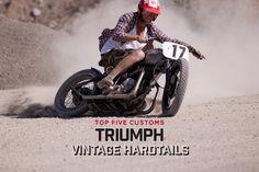 Top 5 Triumph vintage hardtails