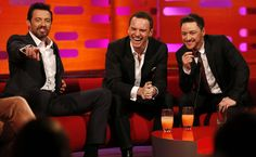 The League of British Artists: Michael Fassbender, James McAvoy and Hugh Jackman ...