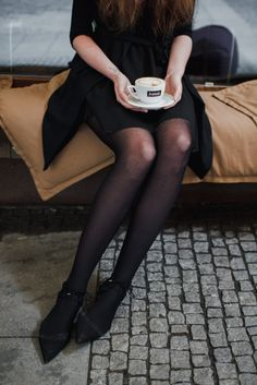 If you need more caffeine you can get a cappuccino twice the size in Brno – Lera Lazareva Best Coffee, Coffee Time, Cafe Art, Stockings, Good Things, Photo And Video, Caffeine, Instagram, Socks