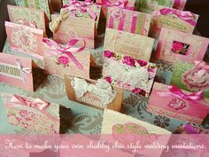Dicas pra Noivas: Diy Convite de Casamento