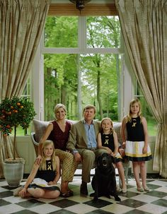 The Dutch Royal fami