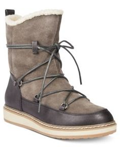 White Mountain Topaz Cold-Weather Boots - Gray 8.5M c8b001507f8