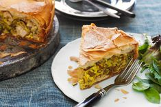 Moroccan Chicken Pie recipe